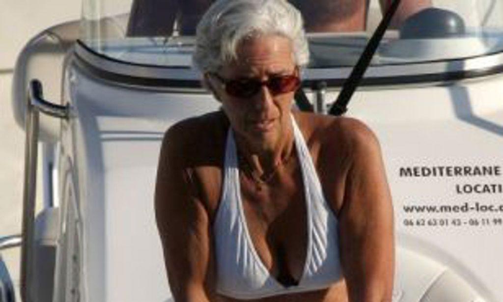 Christine Lagarde Bikini Photo