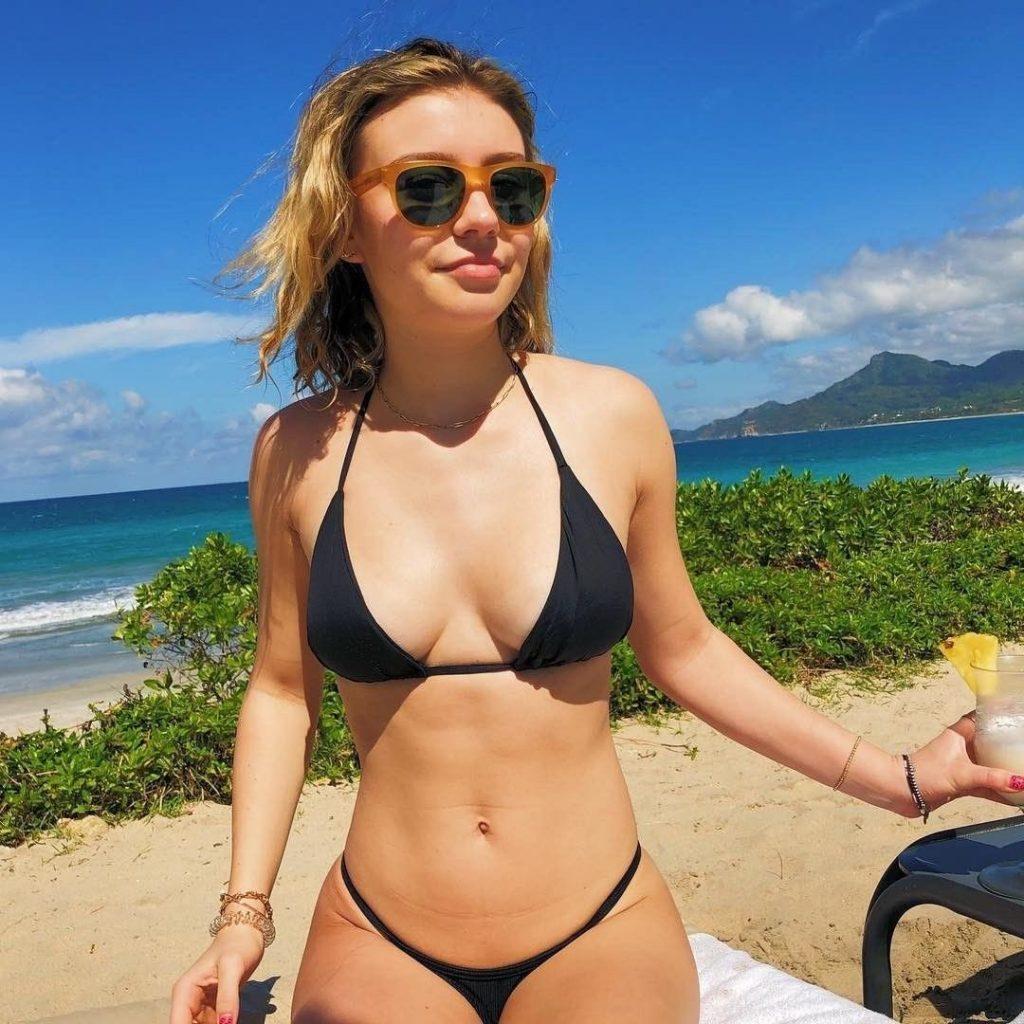 G Hannelius Bikini Photo