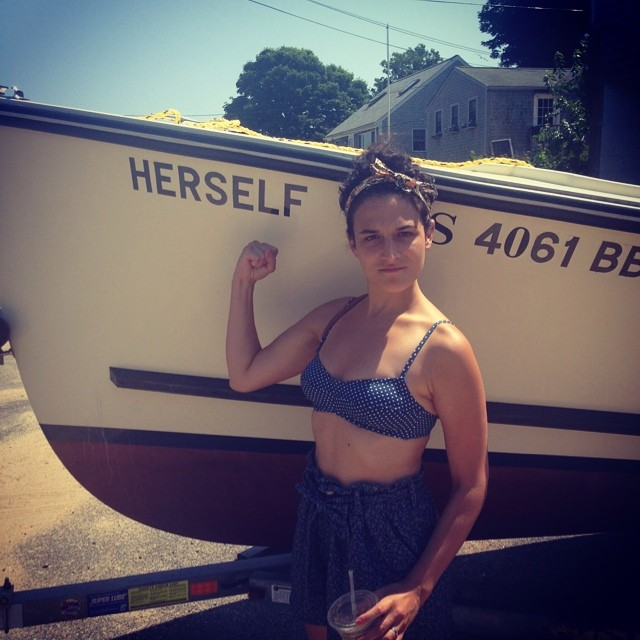 Jenny Slate Bikini Photo