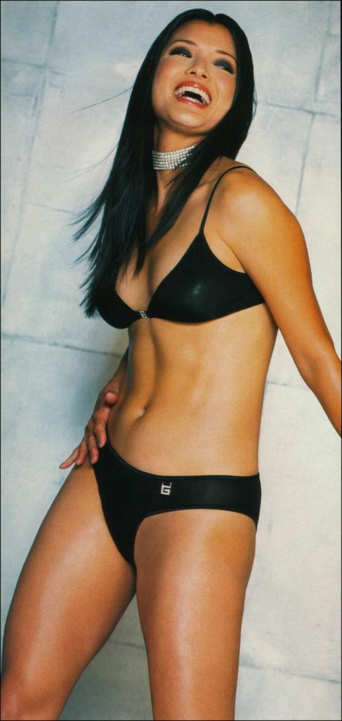 Kelly Hu Bikini Photo