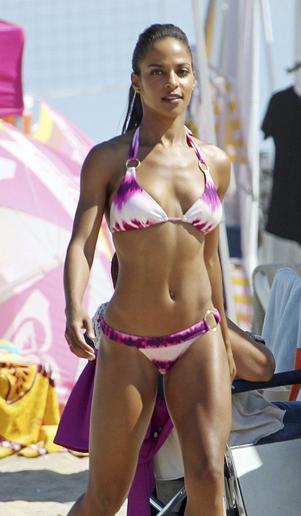 Megalyn Echikunwoke Bikini Photo