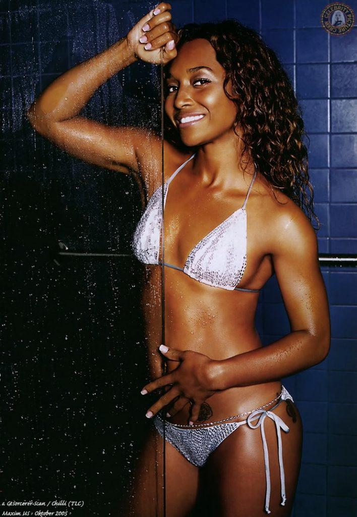 Rozonda Thomas, Chilli Bikini Photo