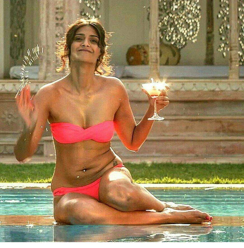 Sonam Kapoor Bikini Photo