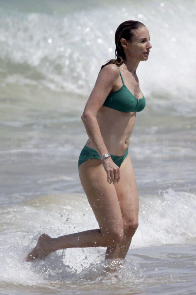 Tracy Pollan Bikini Photo