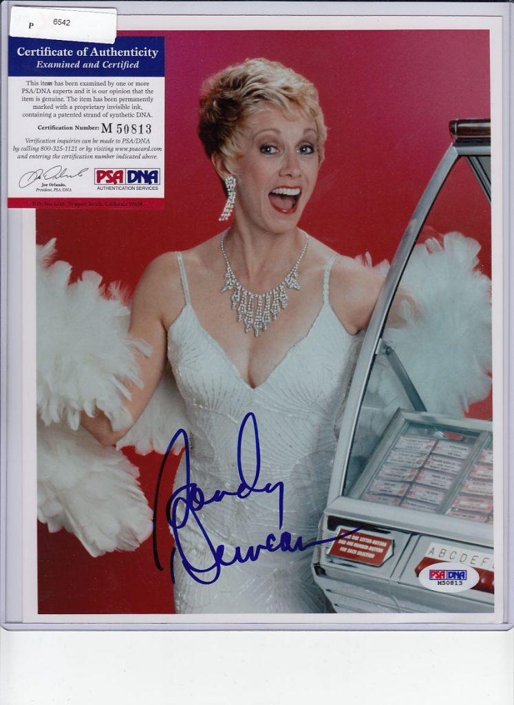 Sandy Duncan in a dress