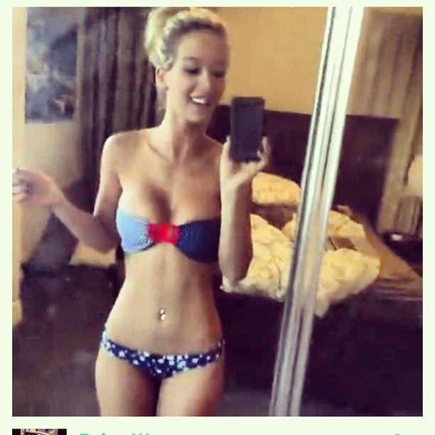 Paige Grewcock bikini selfie