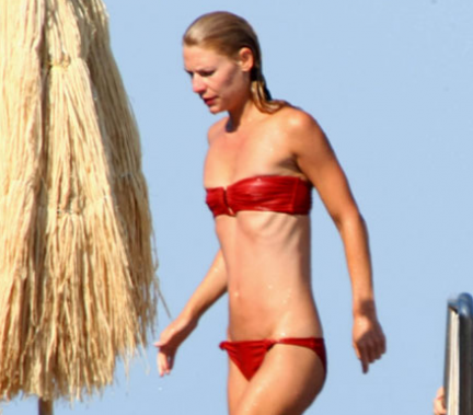 Claire Danes Bikini Photo