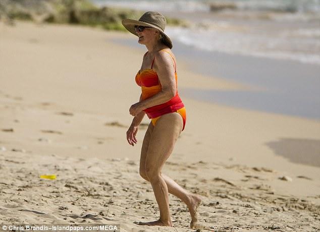 Glenn Close Bikini Photo