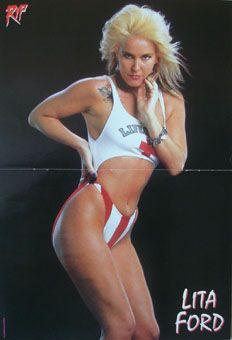 Lita Ford Bikini Photo