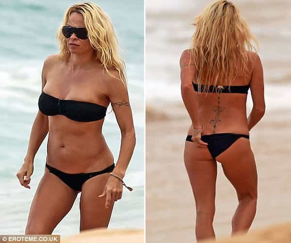 Pamela Anderson Bikini Photo