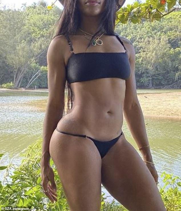 SZA Bikini Photo