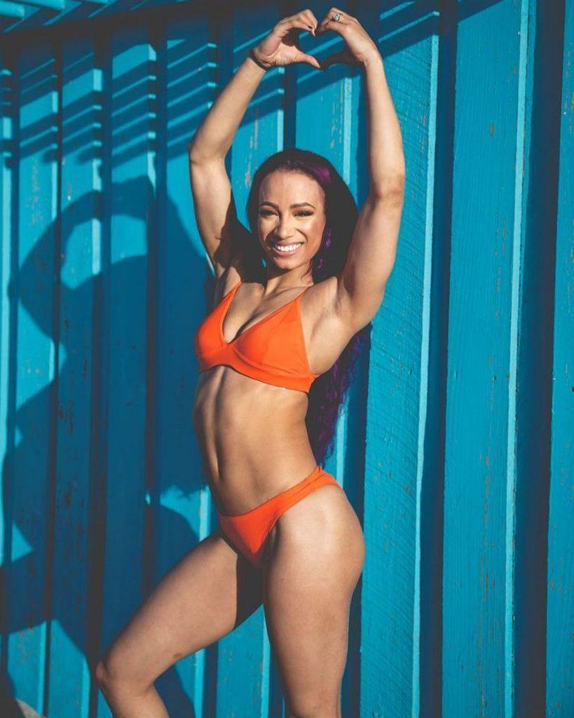 Sasha Banks Bikini Photo